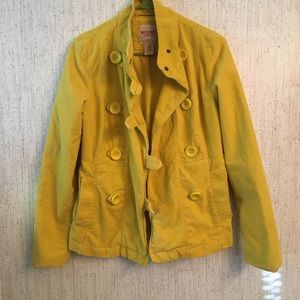 🔥Mossimo Supply  mustard yellow jacket Medium